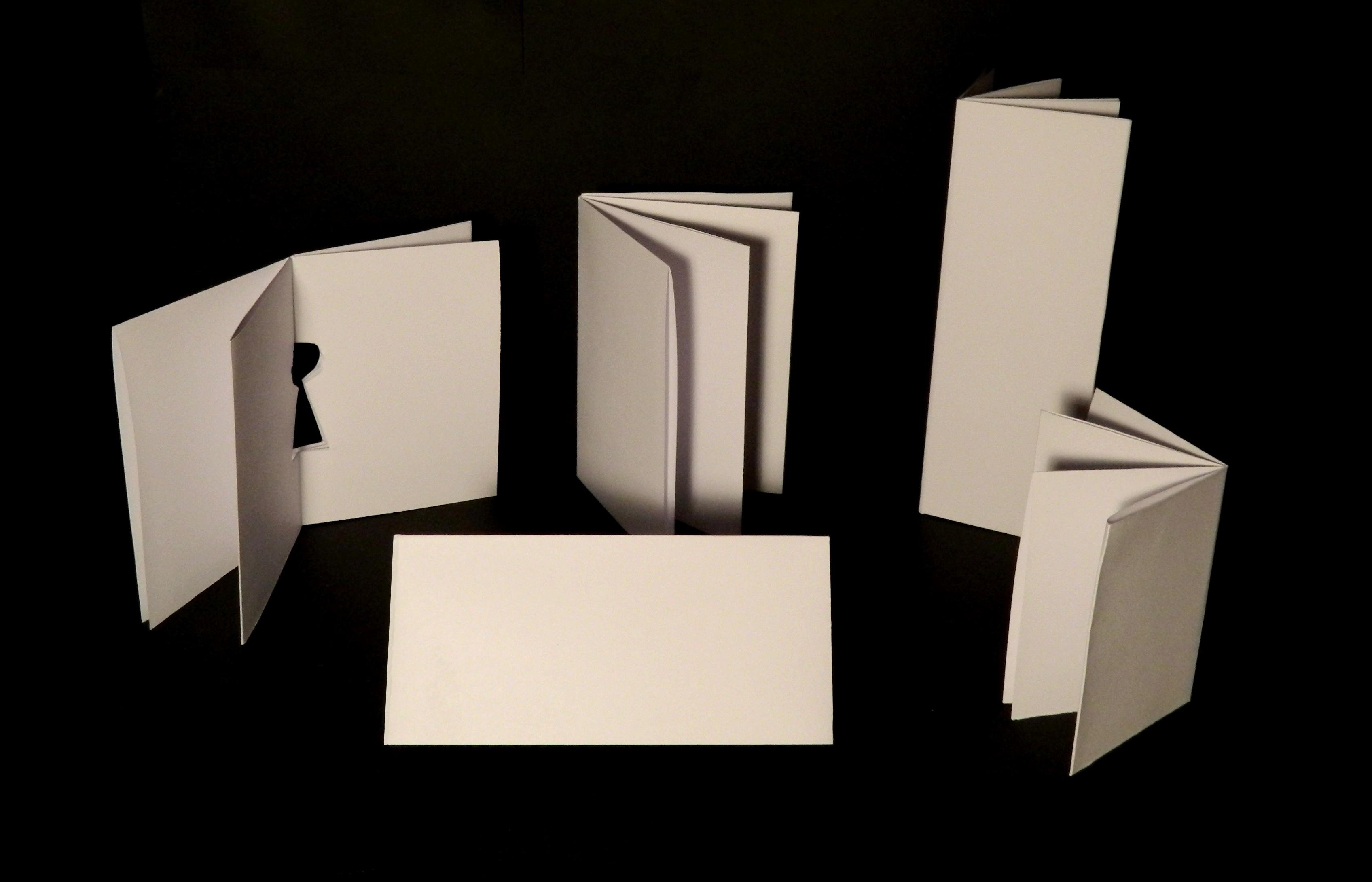 Distintos formatos a partir de un DIN A4 plegado