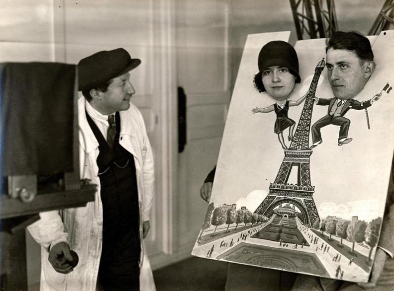 Brassai at work, por André Kertész