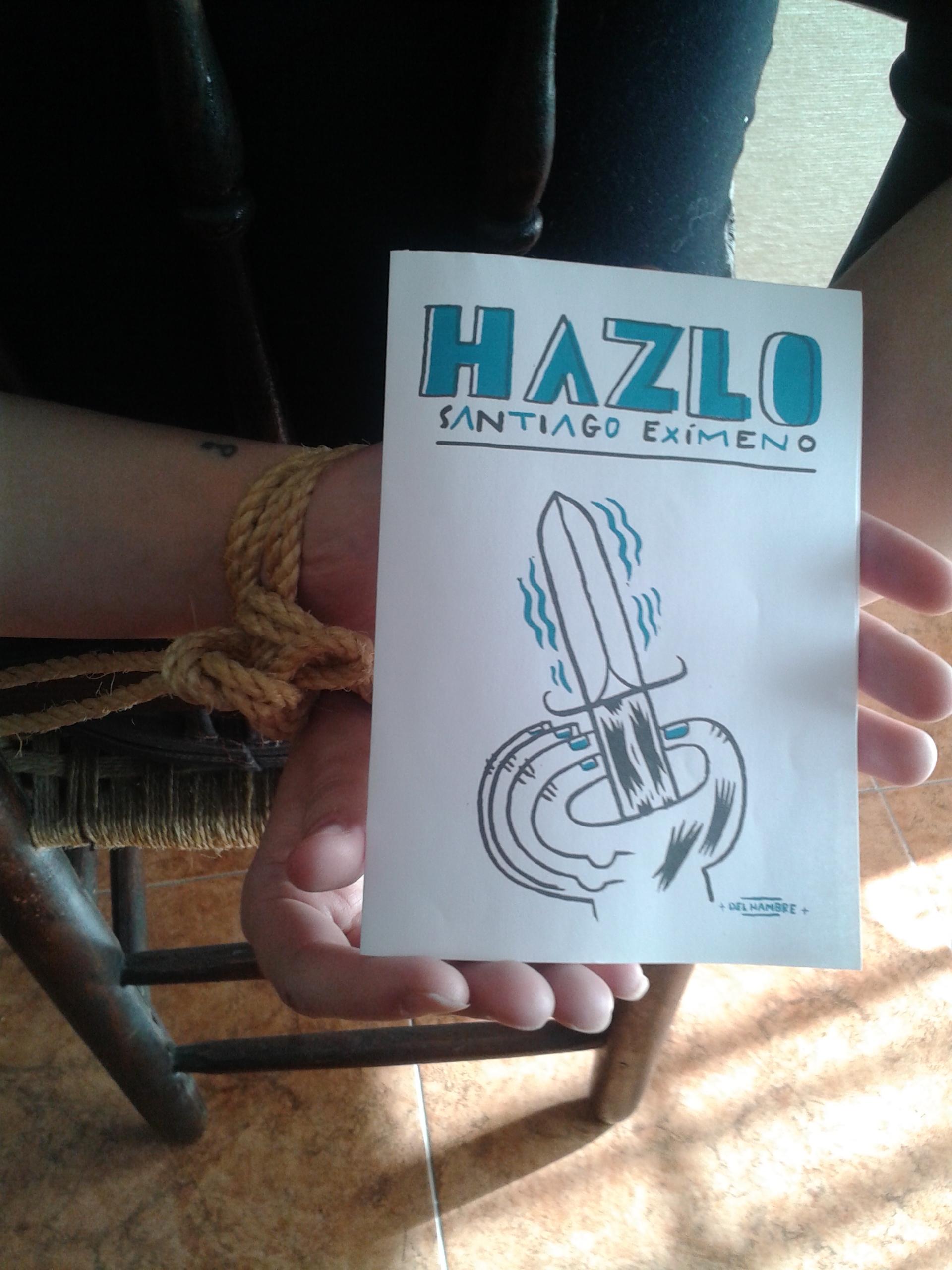 Portada de 'Hazlo', ilustrada por Del Hambre.