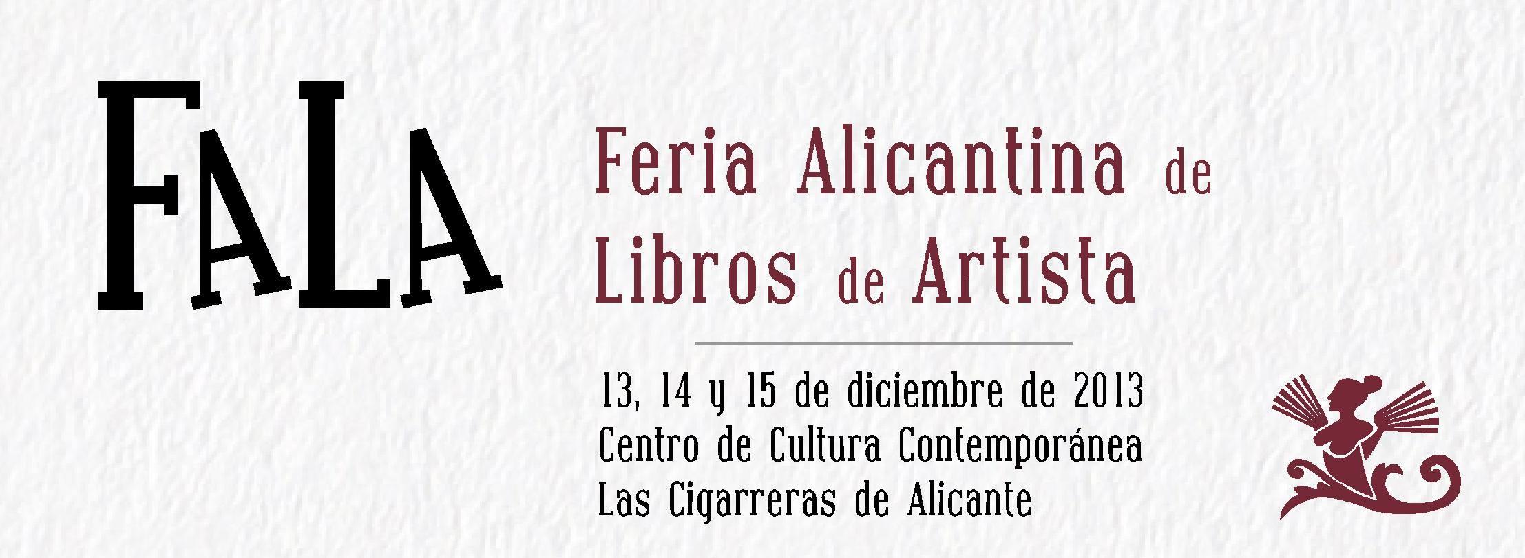 Feria Alicantina de Libros de Artista
