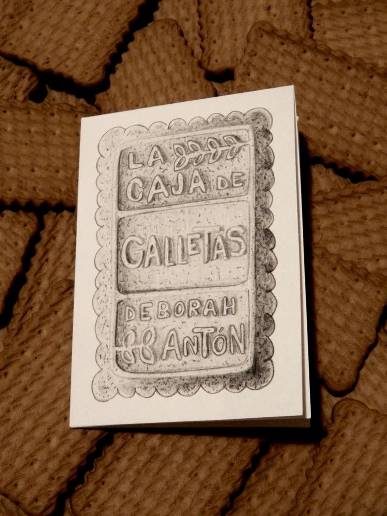 Imagen de presentación del poemario 'La caja de galletas'